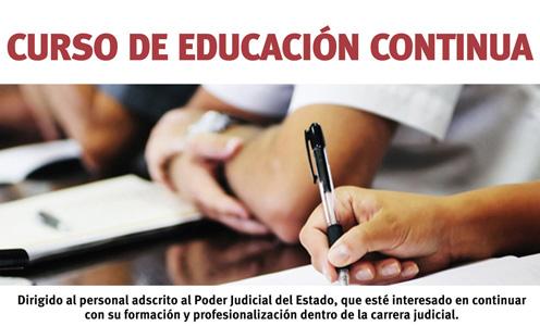 Curso de Educación Continua